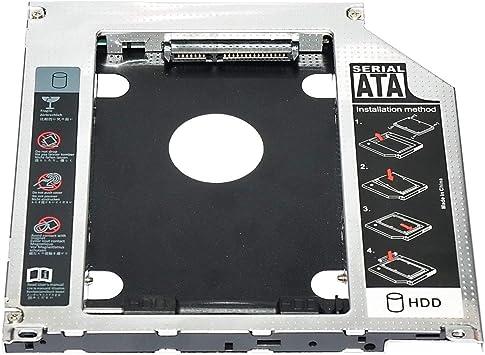 LoveOlvido Adaptador de Caddy de Unidad de Disco Duro SSD ...