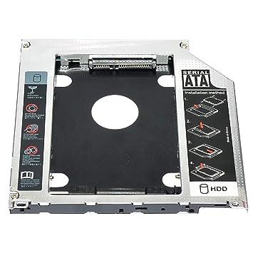 LoveOlvido Adaptador de Caddy de Unidad de Disco Duro SSD SSD de 9 ...