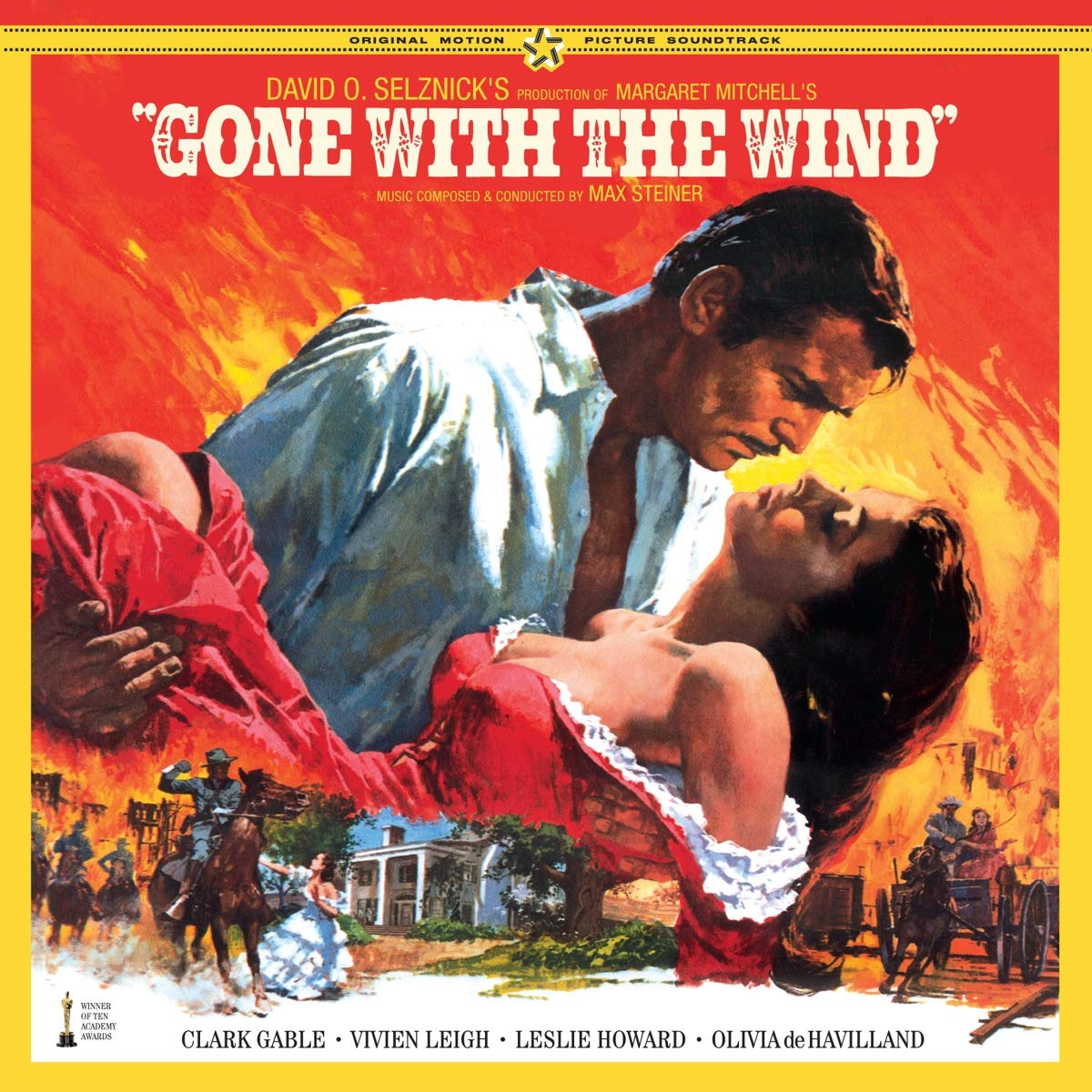 Vinilo : Max Steiner - Gone With The Wind: The Complete Original Soundtrack (Bonus Track, Spain - Import)