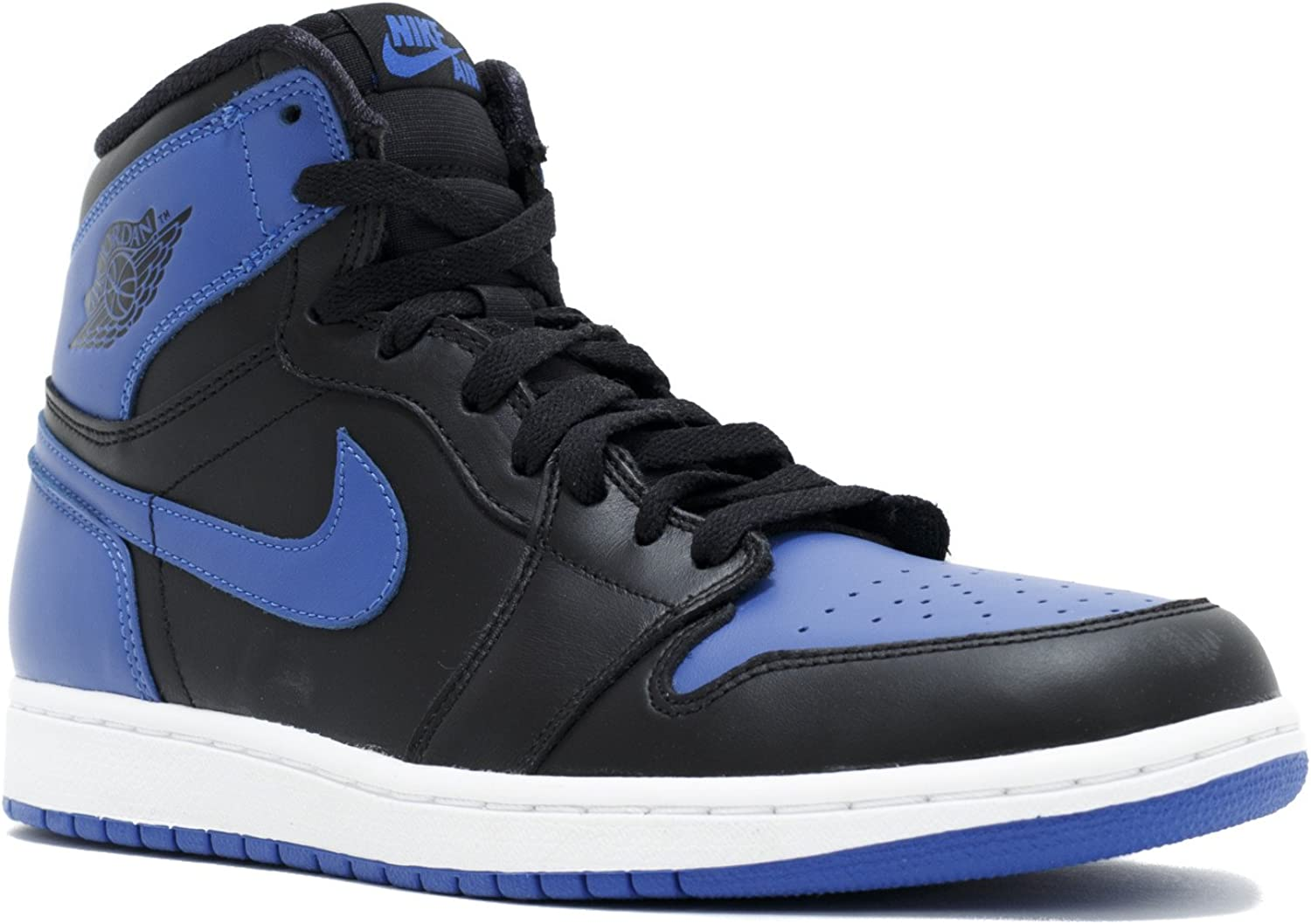 Categoría detective Nabo  Amazon.com: Nike Air Jordan 1 Retro High OG 2013 Negro Azul Real 555088 –  085, 10.5 D(M) US: Shoes