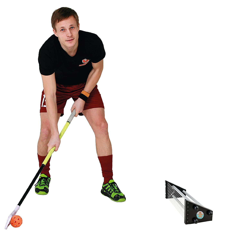 My Floorball–Passer Air der Floorball/UNI Hockey Rebounder einseitig bespielbar SIA Sport Revolution