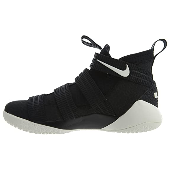 3a72f73a5a3 NIKE Mens Lebron Soldier Xi SFG Basketball Shoes Black Racer Blue Sail  897646-004 Size 11  Buy Online at Low Prices in India - Amazon.in