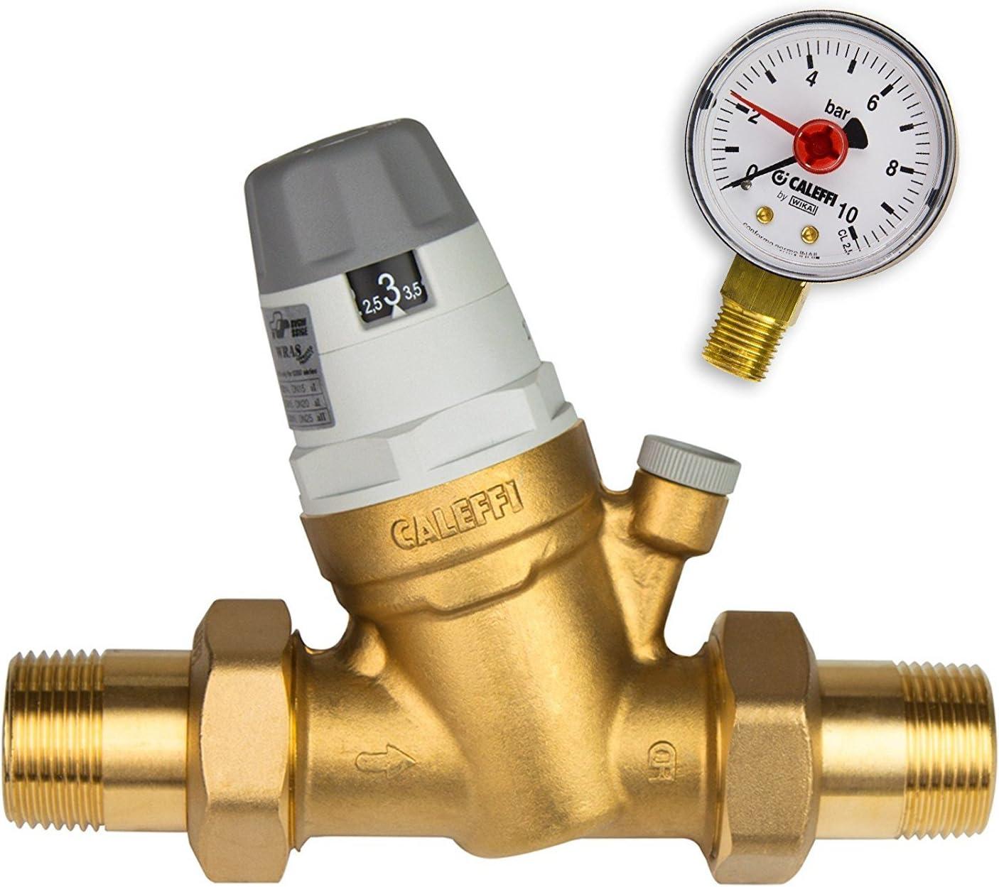 Stabilo-Sanitaer Válvula reductora de presión de agua, 1/2pulgadas, DN15