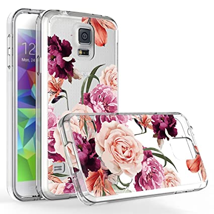 Amazon.com: Galaxy S5 funda, Samsung Galaxy S5 funda con ...