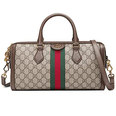 b23ea6ac260537 Amazon.com: Gucci Ophidia GG Medium Top Handle Bag Handbag Article: 524532  K05NB 8745 Made in Italy: Shoes