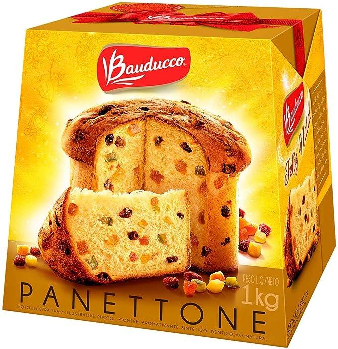 Panettone Frutas Cristalizadas 500g - Bauducco por Bauducco