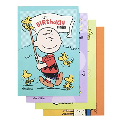 Amazon Peanuts Birthday Inspirational Boxed Cards Office