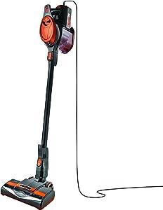Shark Rocket Ultra-Light Corded Bagless Vacuum for Carpet and Hard Floor Cleaning with Swivel Steering (HV301), Gray/Orange