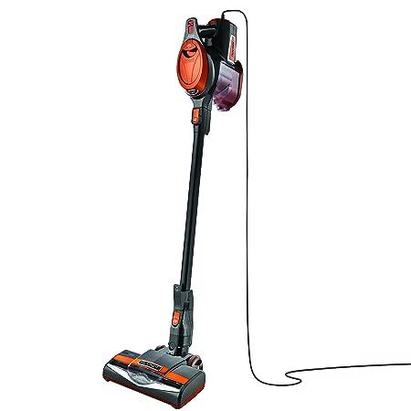 Shark Rocket Ultra-Light Corded Bagless Vacuum for Carpet and Hard Floor Cleaning with Swivel Steering HV301 , Gray Orange