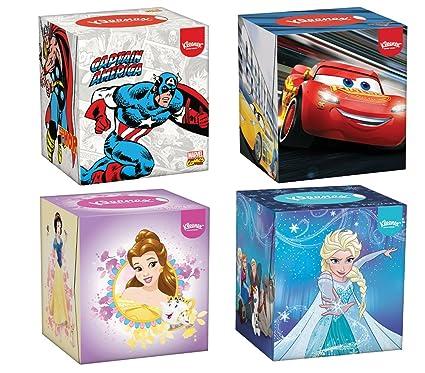 prese di fabbrica grande sconto del 2019 immagini dettagliate Kleenex Kids' Cube Fazzoletti 56 Pezzi per Scatola, Pacco da ...