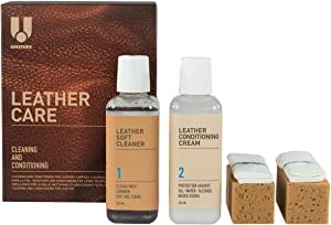 UNITERS Cleaning and Conditioning Leather Care Kit - 250ml