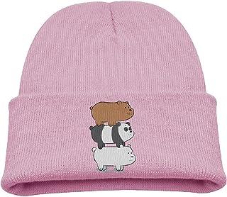 Kids Beanie Hat We Bare Bears Skull Cap In 4 Colors