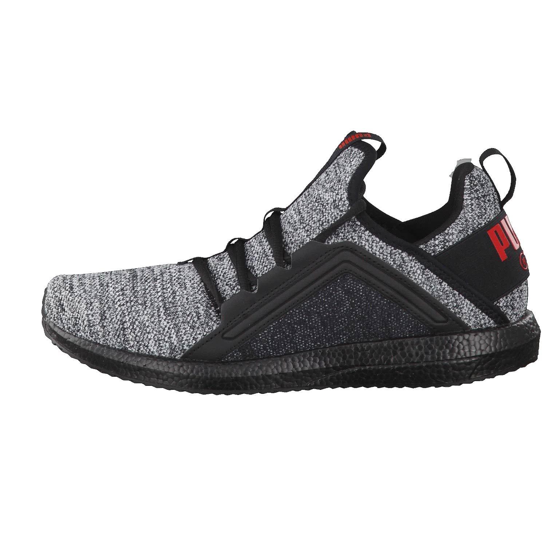 Mega Nrgy Knit Black Running Shoes-13