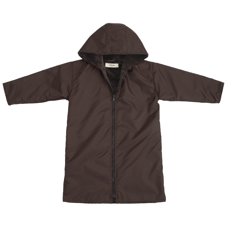 My Blankee Kids Waterproof Hooded Rain Coat, Brown, 6-7 Y by My Blankee