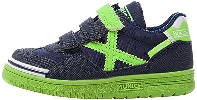 Chaussures Munich bleues enfant 6StXdQlA