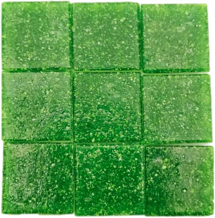 Armena 1 x 1 cm Mosaikstein Verde 260 g 2 x 2 cm Aproximadamente 86 Unidades , en 2x130 g Pet Box