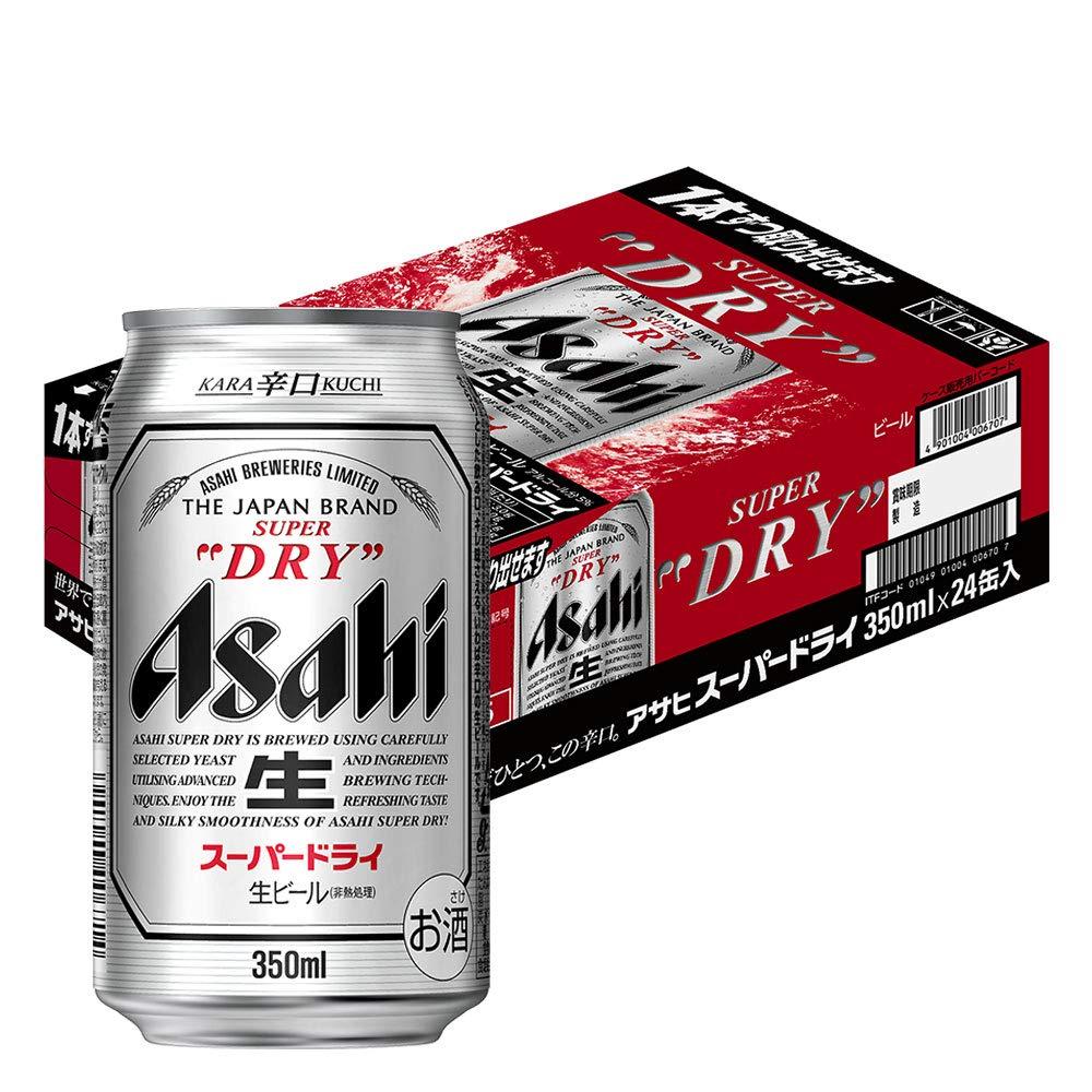 アサヒ - スーパードライ 350ml×24本