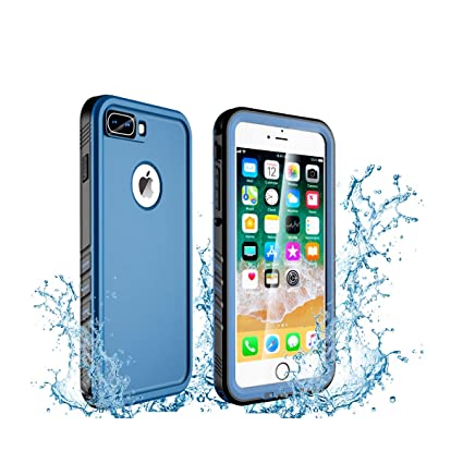 online retailer 38eb1 00d5e Oryxboost Waterproof Case for iPhone 8 Plus and iPhone 7 Plus, Protective  Full Body Rugged Shockproof Slim Case with Built-in Screen Protector, ...