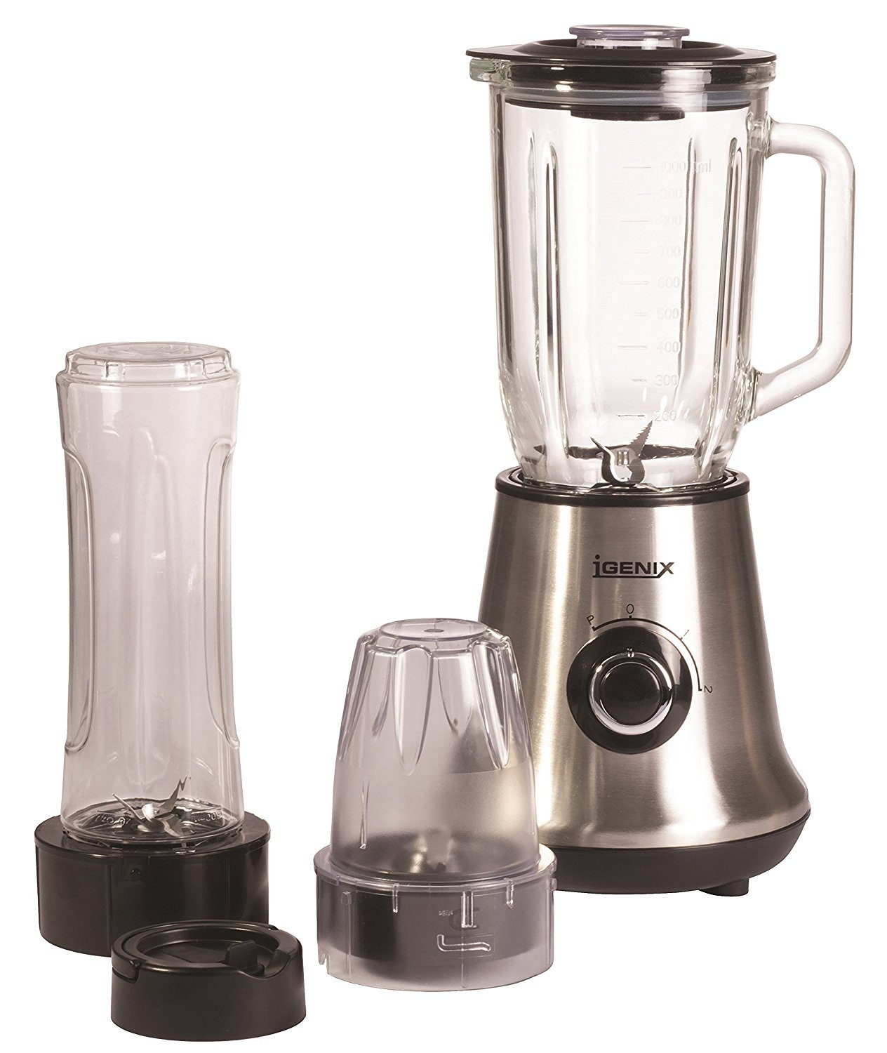 Igenix ig8330 450w 3 in 1 blender grinder smoothie for Kitchen perfected blender