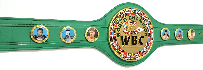 Amazon.com : WBC WORLD BOXING CHAMPION BELT, replica belt : Sports & Outdoors