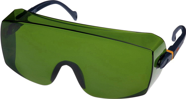 3M Schutzbrille 2805, AS, UV, PC, grü n getö nt, IR 5.0 - geeignet fü r autogenes Schweiß en und Hartlö ten