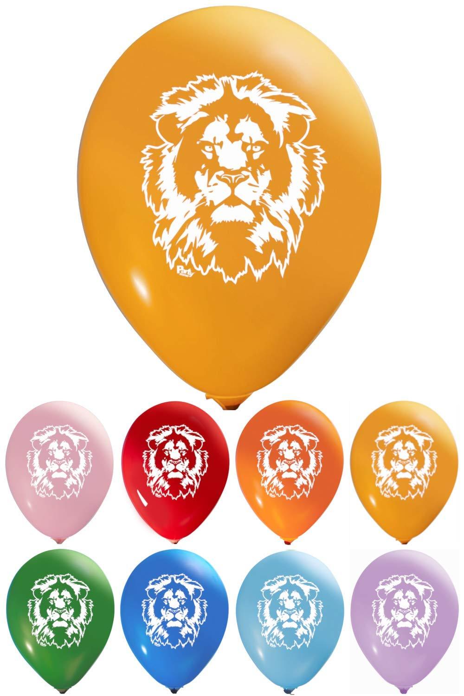 Amazon.com: Globos de cara de león – Látex de 12 pulgadas ...