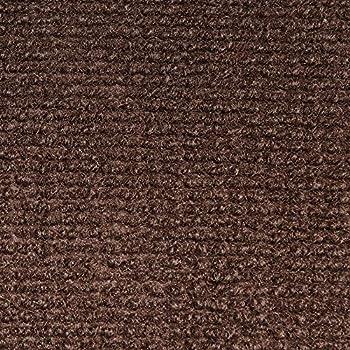 Indoor/Outdoor Carpet With Rubber Marine Backing   Dark Brown 6u0027 X 10u0027