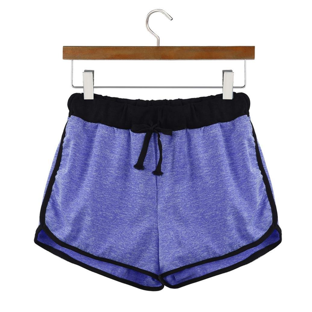 ... Pantalones Cortos de Ringer, Ba Zha Hei, Womens Patchwork Mid Waist Loose Shorts Drawstring Waist Ringer Shorts Pants: Amazon.es: Ropa y accesorios