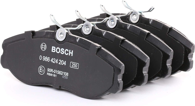 Bosch 0 986 424 204 juego de discos de freno, disco de freno