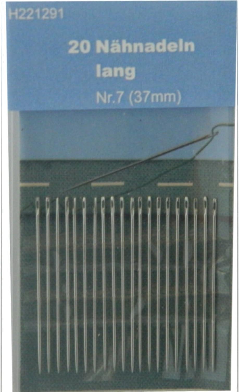 N/ähnadeln lang BIG-SAM 16 Nadeln - Nr. 1-5 verschiedene Gr/ö/ßen
