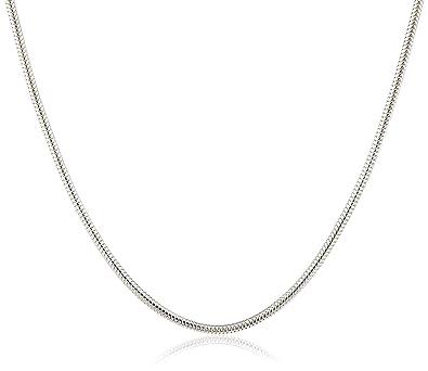 Schlangenkette  InCollections Damen-Schlangenkette 925 Sterling Silber 38 cm ...