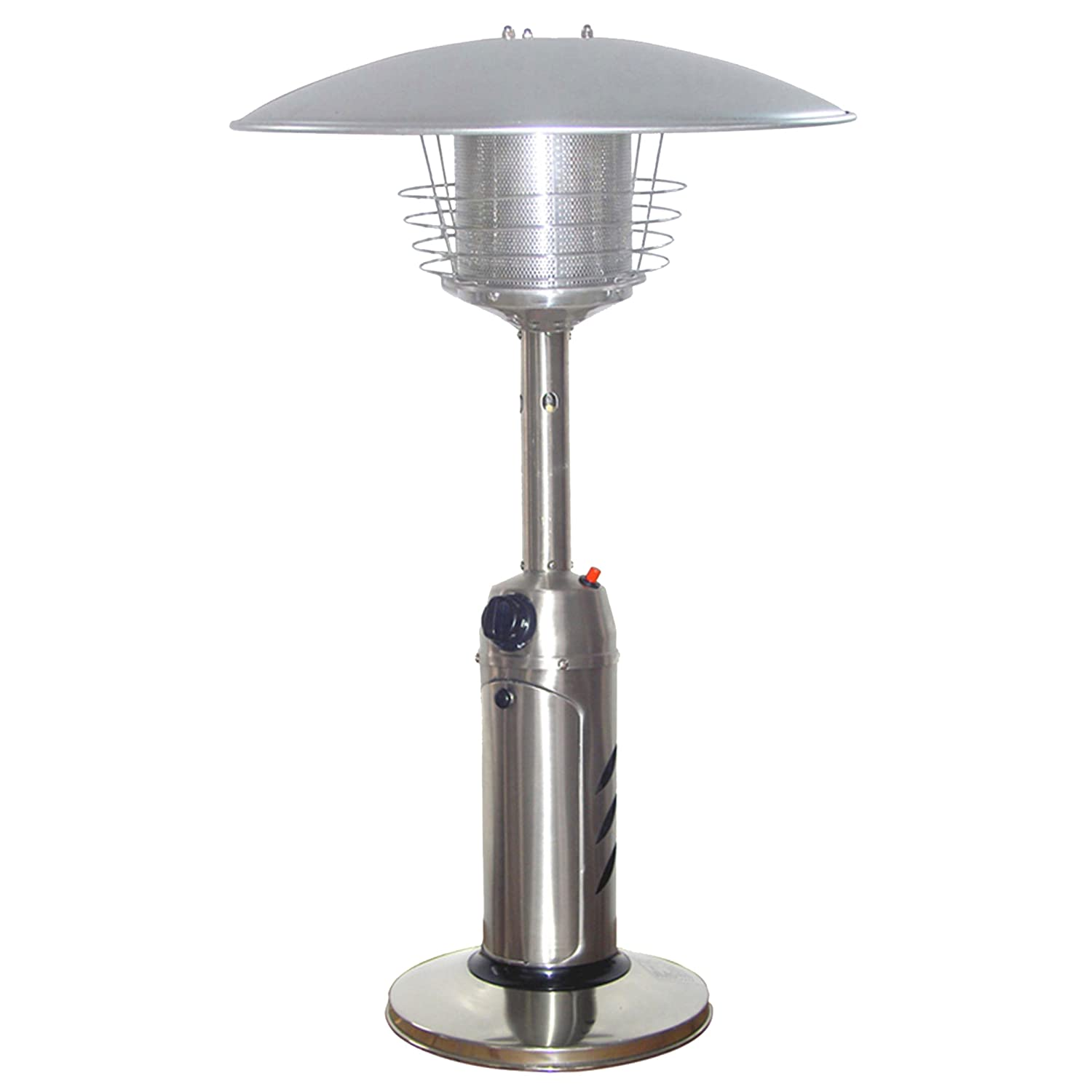 Perfect AZ Patio Heaters HLDS032 B Portable Table Top Stainless Steel Patio Heater,  Stainless Finish