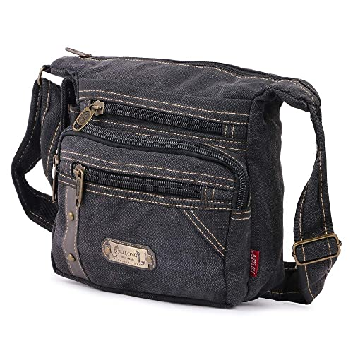 d25a8244ae5fe AlexVyan Jiu Long Stylish Canvas Casual Men and Women Girl Boy Make Up Bag  Shoulder Bag