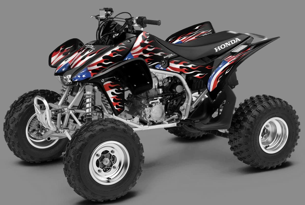 Blaze of Glory by Invision Artworks Details about  /Honda TRX 450R Graphics 2004-2007