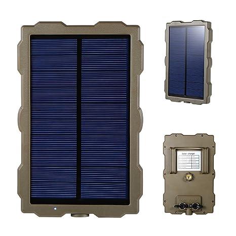 W&St El Panel Solar, Cargador Solar para La Cámara De La ...