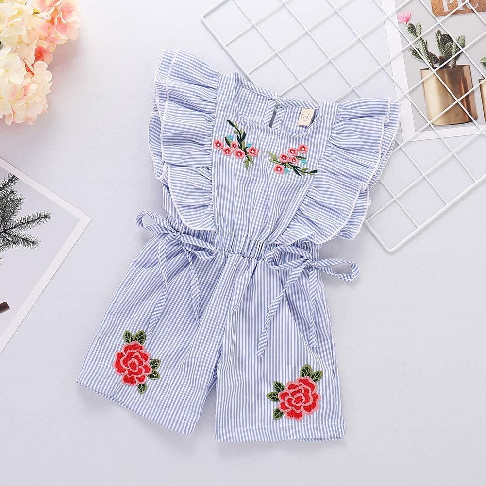 JIANLANPTT Toddler Boys Girls Cotton Linen Sleeveless Vest Shorts Summer Set