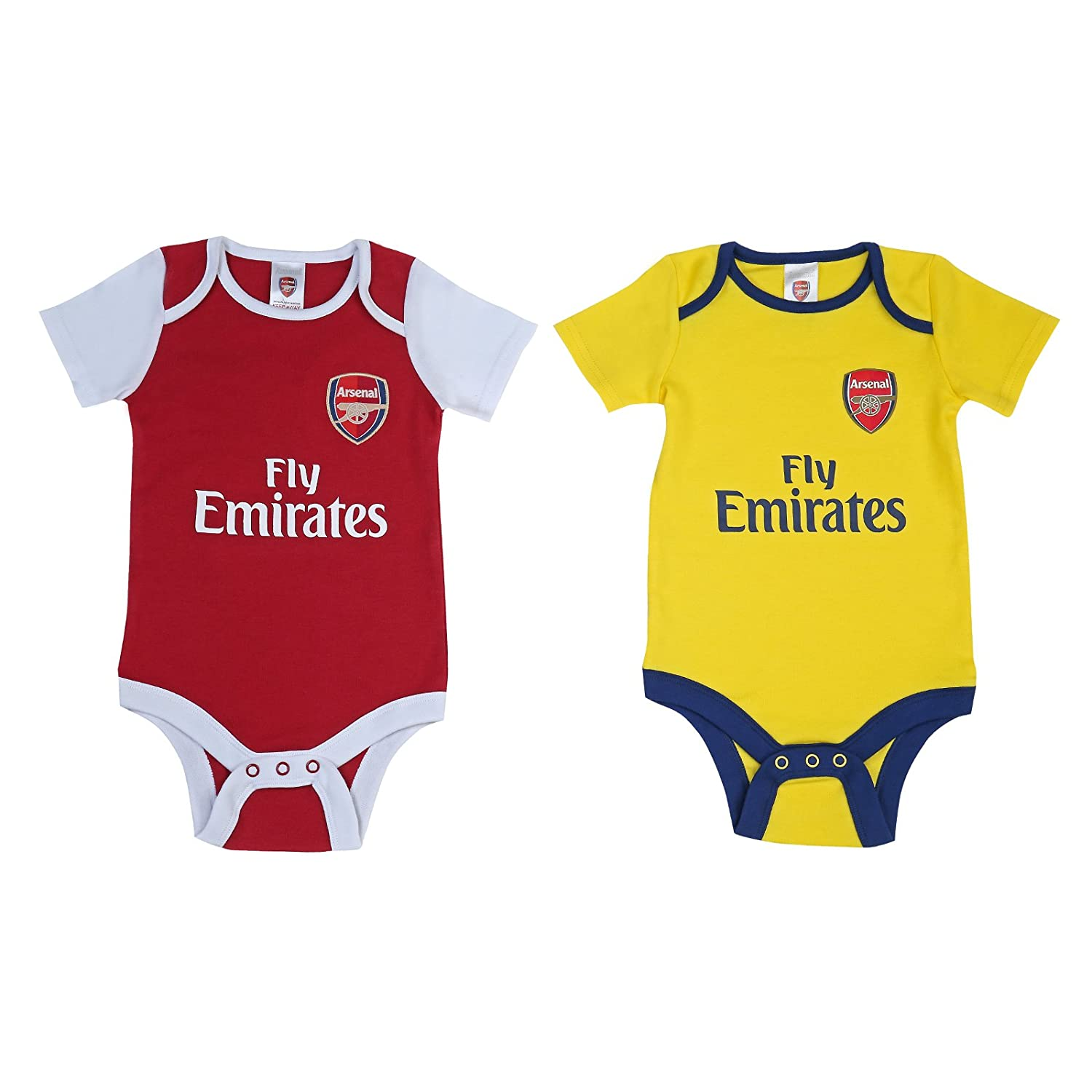 Arsenal Fc Babygrow Sleepsuit Baby Football Kit 12//18 mths WT
