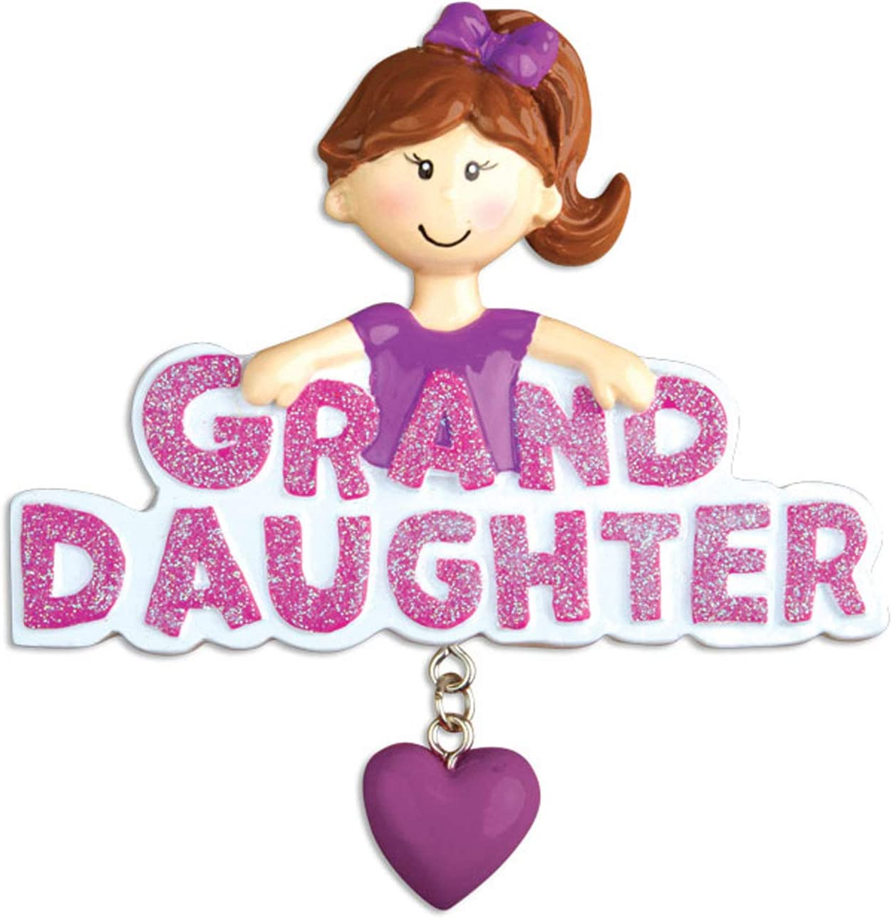 Personalized Granddaughter Christmas Ornaments 2020 Amazon.com: Personalized Granddaughter Christmas Tree Ornament