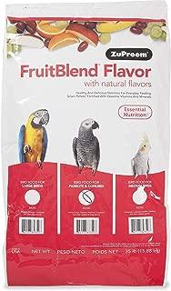 product image for ZuPreem Fruit Blend Medium/Large Bird Food , 35# Bag