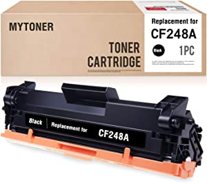MYTONER Compatible Toner Cartridge Replacement for HP 48A CF248A M15W M29w M31W (Black, 1-Pack)