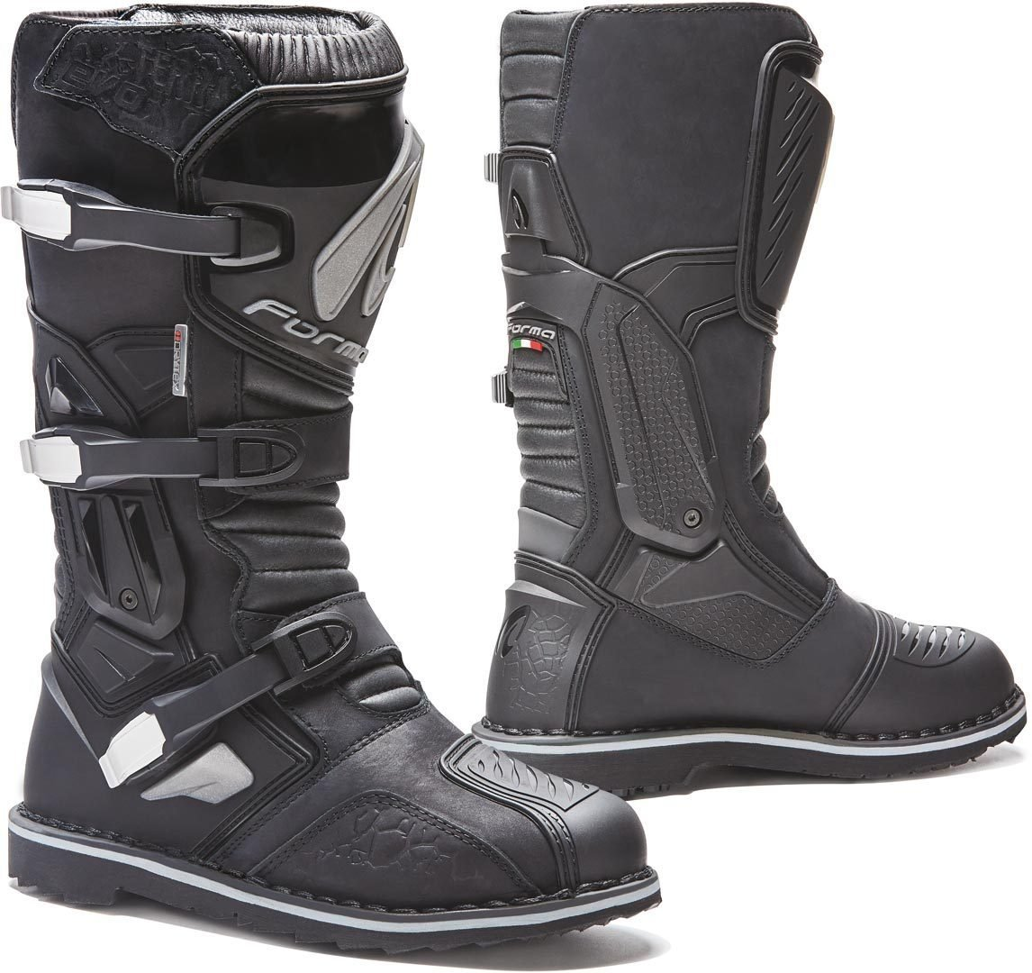 Motorcycle Boots Brown New! Free P/&P Forma Terra Evo Low