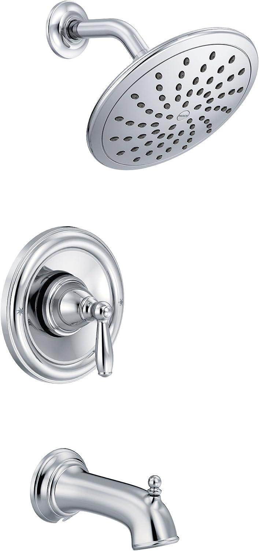 MOEN Eva 1-Handle Posi-Temp Tub and Shower Trim Kit w//Eco-Performance Showerhead