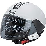 Steelbird Sb-33 Eve Dashing Open Face Women's Helmet (White)