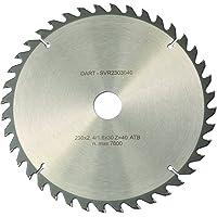 DART SVR1362020 Discos de sierra circulares, color plateado