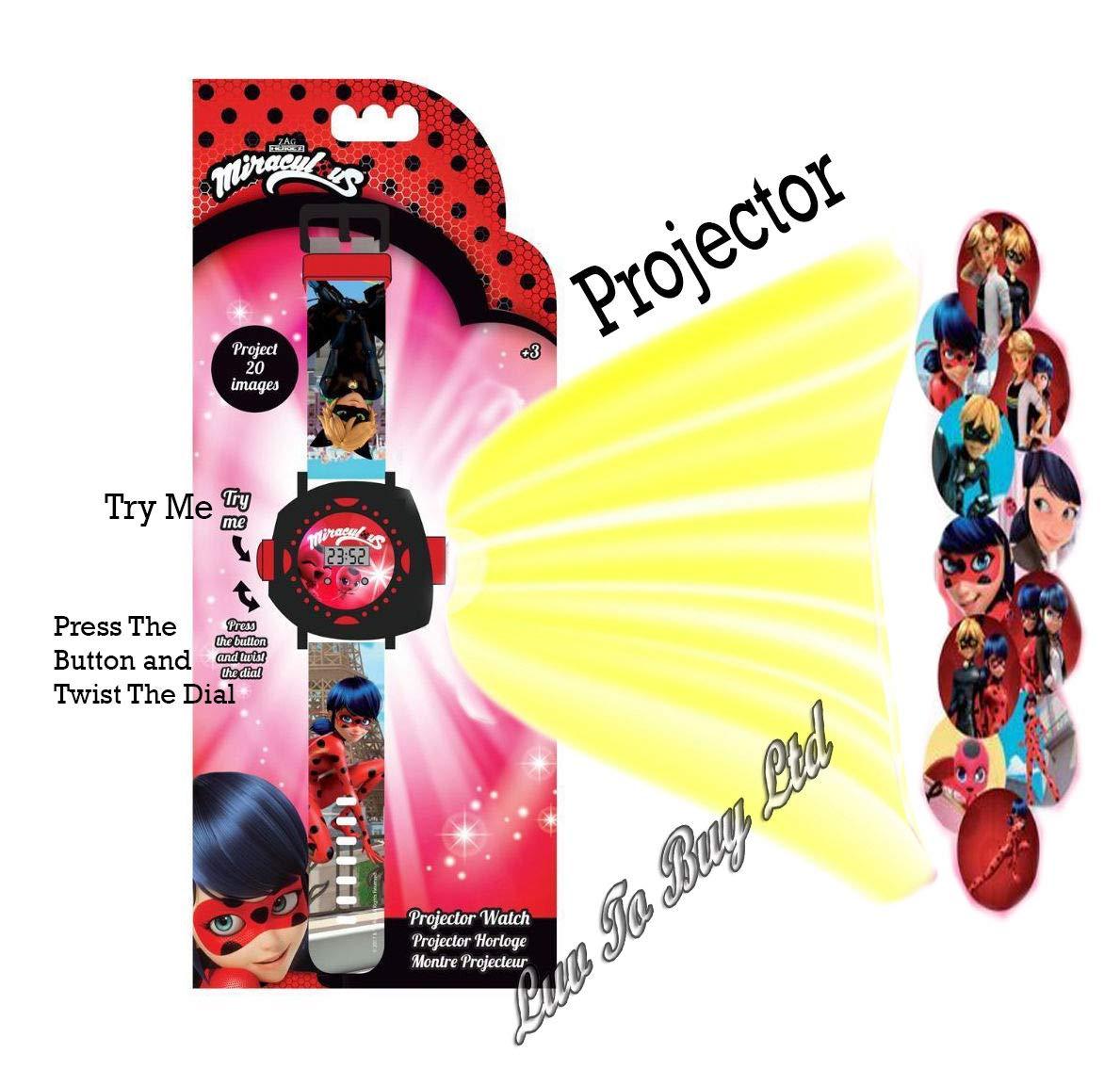 Ladybug Reloj milagroso de la Mariquita con el proyector, Reloj de ...