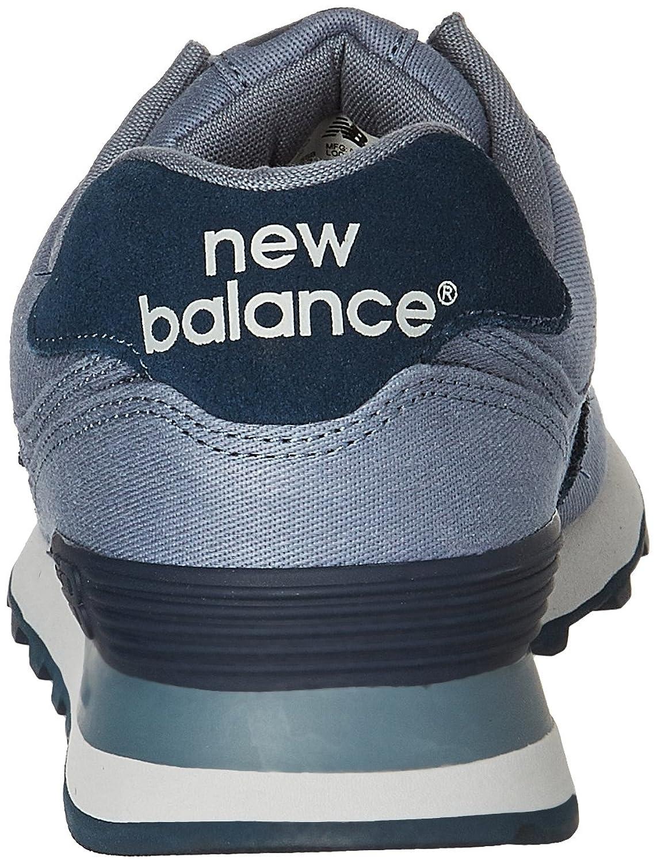 574 Zapatillas De Deporte De La Lona Encerada Pack Forme Los Nuevos Hombres De Balance XAgfO