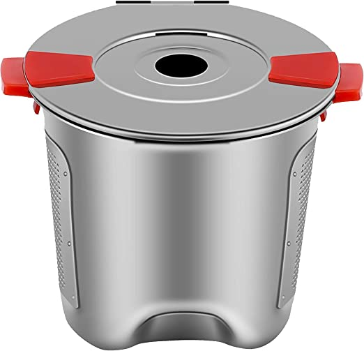 2 Filters Universal Refillable Reusable Single Serve K Cup Pod Keurig 1.0 2.0