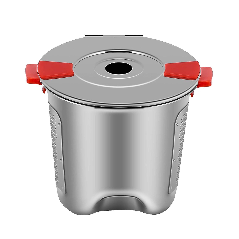 Amazon.com: K tazas reutilizables para cafetera Keurig 2.0 ...