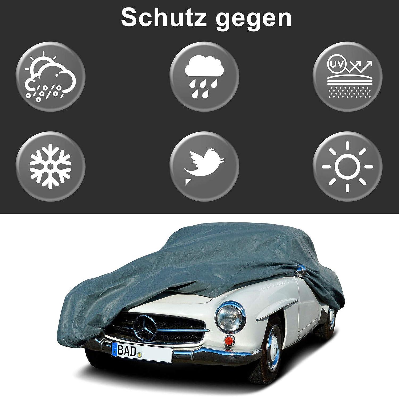 MyCarCover Autoplane In-Outdoor passend f/ür Jaguar XE X760 Abdeckplane Autogarage Schmutzabweisend Wasserabweisend f/ür Winter /& Sommer