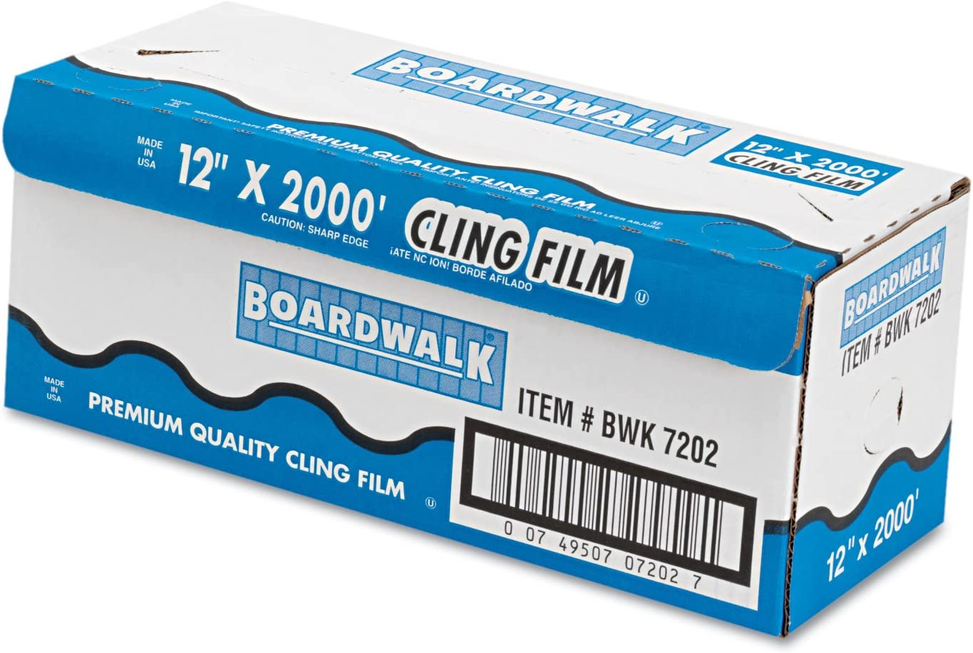 BWK7202 - Boardwalk PVC Food Wrap Film